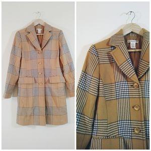 Pendleton current classic vintage Burberry coat